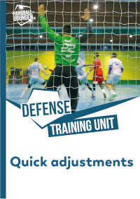 1-on-1 and 2-on-2 defense with quick adjustment to subsequent actions