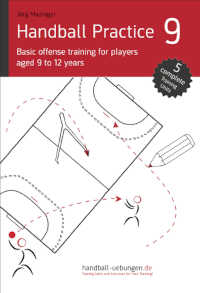 Handball Practice 9 – Basic offense training for players aged 9 to 12 years